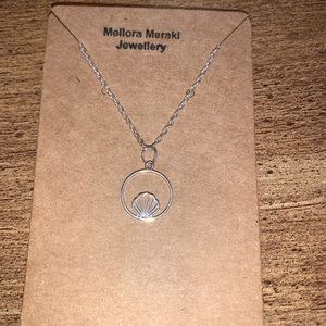 Sterling silver ocean life pendant